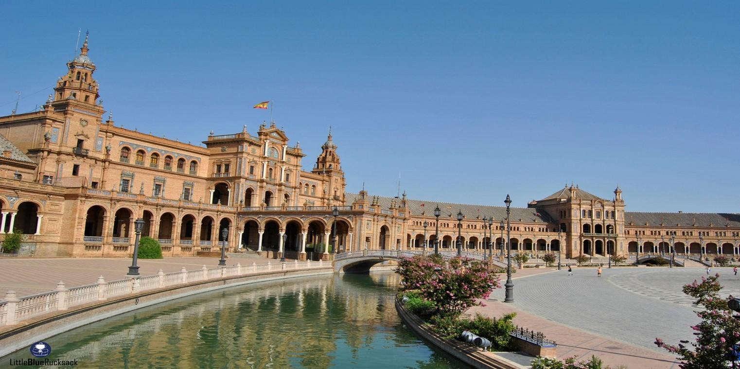 La Place d'Espagne de Séville